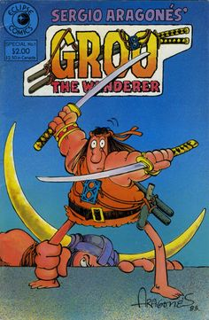 That's too much success for Groo; he's doomed to screw up anything he'll attempt, and especially any plans that others base around him. Description from warren-peace.blogspot.com. I searched for this on bing.com/images