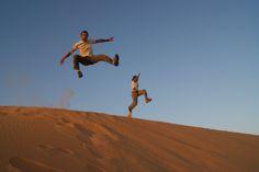 Family Desert Trip, Libya