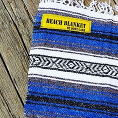 Don't Care blankets, great for snuggling at the beach:)