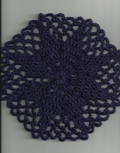Level 14 - Treasures Made From Yarn: My Yarn Doily Pattern