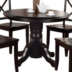 I pinned this Hallows Dining Table from the Halloween Entertaining event at Joss and Main!