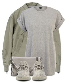 """""""Untitled #3242"""" by xirix ❤ liked on Polyvore featuring adidas, River Island, STELLA McCARTNEY, adidas Originals, women's clothing, women, female, woman, misses and juniors"""