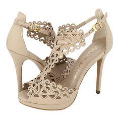 Serdang - Γυναικεία πέδιλα Para Raio από δέρμα, 129€ #giannakazakou High Heels, Shoes Heels, Cream Shoes, Peeps, Peep Toe, Walking, Platform, Fashion, Shoes