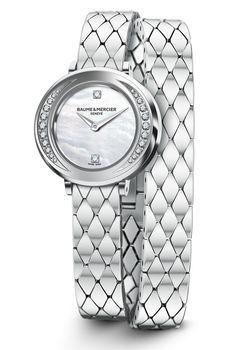 La montre Petite Promesse de Baume & Mercier