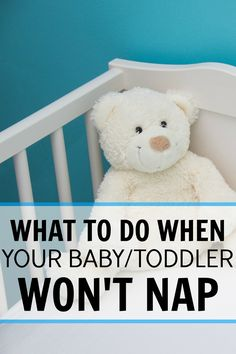It can be so frusturating when your little one won't nap. You know she is tired but she just won't close her eyes and sleep or if she does it is only for 15 minutes or so. This really helped us get in a good nap routine and now she naps for 1 1/2 to 2 hours every time! We are both more rested and happy! What to do when your baby/toddler won't nap.