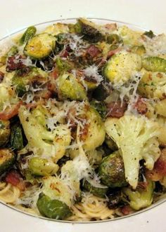 recipe: spinach brussel sprout pasta [30]