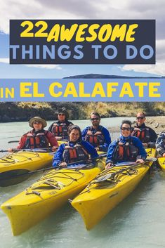 22 Things to do in El Calafate + Tourist Map of El Calafate - Valentina's Destinations
