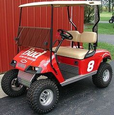 Decals for golf carts