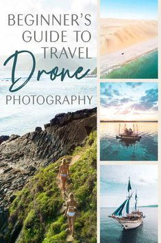 The beginner's guide to drone photography will take your solo-travel photos to the next level with all my tips and tricks! Travel Photography Tumblr, Photography Gear, Aerial Photography, Landscape Photography, Camping Photography, Inspiring Photography, Photography Courses, Photography Tutorials, Creative Photography