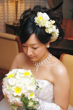 新郎新婦様からのメール 両側からのキス ヒルトンホテル様へ : 一会 ウエディングの花