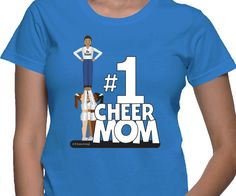 Cheer Mom Cheerleading Shirt