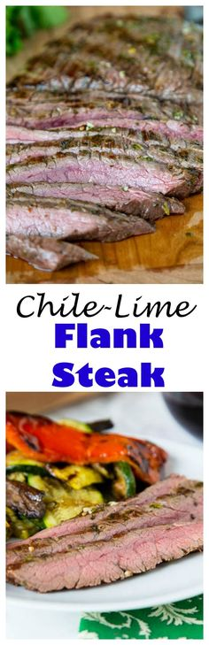 Low Unwanted Fat Cooking For Weightloss Grilled Chile Lime Flank Steak - Flank Steak That Is Marinated In Olive Oil, Lime Juice, Cilantro, And Jalapeno. At that point Grilled In Just Minutes For A Super Fast Meal The Whole Family Will Love. Barbecue Recipes, Steak Recipes, Grilling Recipes, Cooking Recipes, Bbq, Beef Dishes, Food Dishes, Main Dishes, Food Food