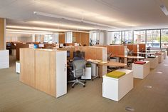 Gates Foundation with Herman Miller  Aeron chairs