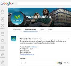 Google+ y tal