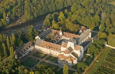 Benedictine Abbey, Notre dame de Fontgombault.Founded in 1091, The abbey was sacked and laid to waste by the Protestant Calvinists in 1569, Catholics  restored in 1948, currently Housing 85 monks  of the Solesmes Benedictine Congregation.http://abbayesprovencales.free.fr/abbaye%20france/fontgombault.htm