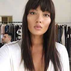 Beauty behind the scenes 💗  @missmiakang #BTS with @rayanayash  Beauty by @ninapark  Hair by @pacopoki  #TrumpModels #MiaKang #Beauty #Repost #Wehavethebestgirls