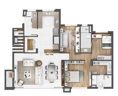 Apartamento com 3 Quartos à Venda, 126 m² por R$ 1.479.453 Rua Curvelo Petrópolis, Porto Alegre, RS, Foto 11