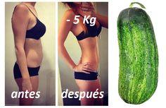 Adelgazar 5 KILOS sin pasar HAMBRE en una semana haciendo la dieta del pepino