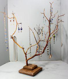 Jewelry Tree  LARGE Manzanita  1103 by RedBarkDesigns on Etsy, $38.00
