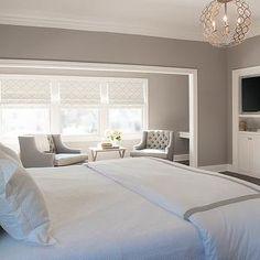 Cory Connor Design - bedrooms - Benjamin Moore - San Antonio Gray - half bath