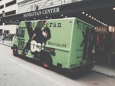 I saw this truck in Nashville! He wasn't in Nashville at the time though....what