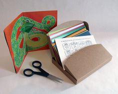 12 cartes pop-up à fabriquer // HELLO Pop-up // par matpapershop