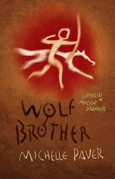 I've been listening to these, read by Ian McKellan. Really fabulous YA novels dealing with identity formation and courage, but pretty intensely scary at parts.  Wolf Brother (Chronicles of Ancient Darkness, #1) by Michelle Paver