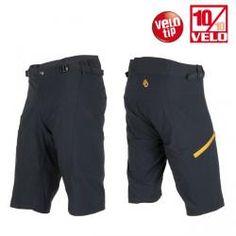 Pánské kalhoty SENSOR HELIUM černá / žlutá
