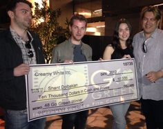 $10,000 for the winner filmmaker of 2013 48er, Shant Dolbakian from Canada www.48filmproject.com