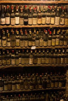 Ancient wine bottles in the cellars of the Verduno Castle in Bararesco… Wine Recipes, Great Recipes, Best Italian Wines, Barolo Wine, Virginia Wineries, Buy Wine Online, Wine Case, California Wine, Old Bottles