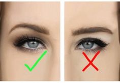 Hooded eyes makeup hacks tips tricks for people with hooded eyelids; eyeshadow eyeliner tutorials for those with monolids Asian lids skin folds. - March 23 2019 at Eyeliner Hacks, Eyeliner Ideas, Make Up Tricks, Eye Liner Tricks, Eye Makeup Tips, Makeup Ideas, Makeup Tutorials, Makeup Tools, Eyeshadow Tutorials
