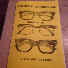 ANOTHER NEW ART ZINE! Double Chinchilla Art Zine 19 by TheEscapistArtist on Etsy