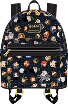Pre-order ships in December W x H x 4 D Faux Leather Printed details Mochila Harry Potter, Sac Harry Potter, Anel Harry Potter, Objet Harry Potter, Harry Potter Accesorios, Harry Potter Backpack, Estilo Harry Potter, Harry Potter School, Harry Potter Items