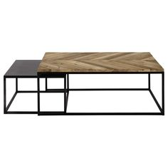 Set of two coffee tables, € 435 - Maisons du monde (find cheaper alternative)
