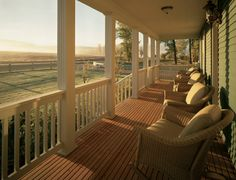Front Porch On Ranch House | Montana Resort Vacation Home - The Morris Ranch House at The Resort at ...