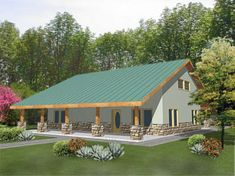 Best Modern Ranch House Floor Plans Design and Ideas Tags: ranch house, ranch house floor plans, ranch house plans, ranch house designs, ranch houses for sale Pole Barn House Plans, Family House Plans, Country Style House Plans, Pole Barn Homes, Best House Plans, Country Style Homes, Small House Plans, Pole Barns, Small Barn Home