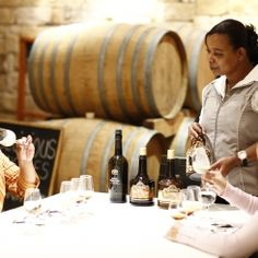The KWV Wine Emporium offers a range of unusual experiences including our extremely popular Chocolate & Brandy Tasting, proudly South African Biltong, Nut & Wine Tasting and delicious Port & Cake pairing. KWV Brandy & Choc and other Food & Wine Pairing is a Yin and Yang Nominee in the #KLINK awards