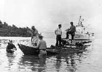 A photo of the U. S. Coast Guard in Vietnam.