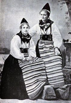 Rättvik's kullor!  Girls from Rättvik!