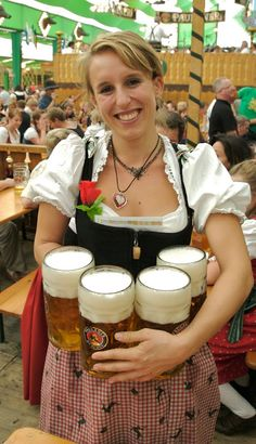 else has done Oktoberfest in Munich?Who else has done Oktoberfest in Munich? Paulaner Bier, Beer Maid, German Oktoberfest, Munich Oktoberfest, Beer Girl, German Beer, Beer Festival, Best Beer, Beer Lovers