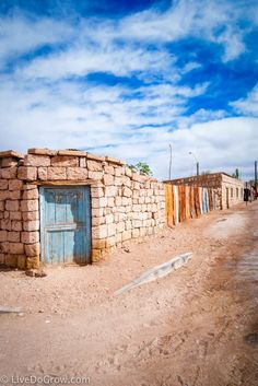 The village of Tocanao is worth a visit when you travel to the Atacama Desert, Chile.