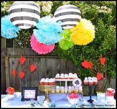 alice in wonderland tea party birthday theme | Alice in Wonderland party 1 {BN Black Book of Parties} Alice in ...