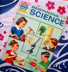 How and Why books! Oh how I loved these. I'd ask my mom for one every time we went to the grocery store. I'd read them from cover to cover. They covered every theme you can think of, from Native Americans to Geology to Space and more. Love...