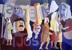 mural en Argentina