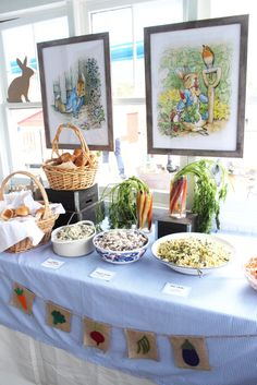 Garden Peter Rabbit Inspired First Birthday | Peter Rabbit Birthday Party | Peter Rabbit Baby Shower | Boy Baby Shower Ideas | Peter Rabbit Party Ideas – The Well Dressed Table