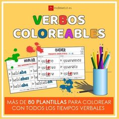 Ideas y material descargable para memorizar los verbos y los pronombres de una manera lúdica, original y práctica.