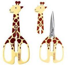 キリンのはさみですー!首部分を外しても可愛い感じですっ。:drill giraffe