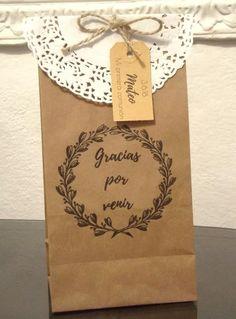 745e2027b 15 mejores imágenes de bolsas de papel madera | Gifts, Paper ...