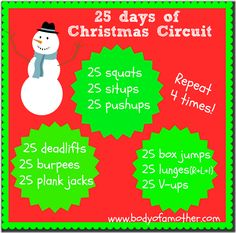 25 Days of Christmas #Circuit! #fitfluential #MOVE