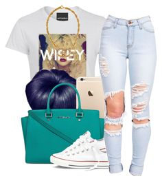 8 4 15 by lovleyshackeria on Polyvore featuring Converse, Michael Kors and Chanel
